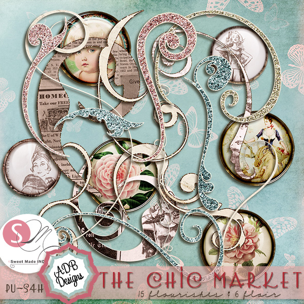 The Chic Market Flourishes & Flair