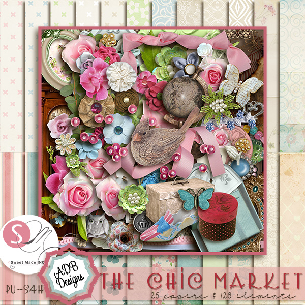 The Chic Market Page Kit