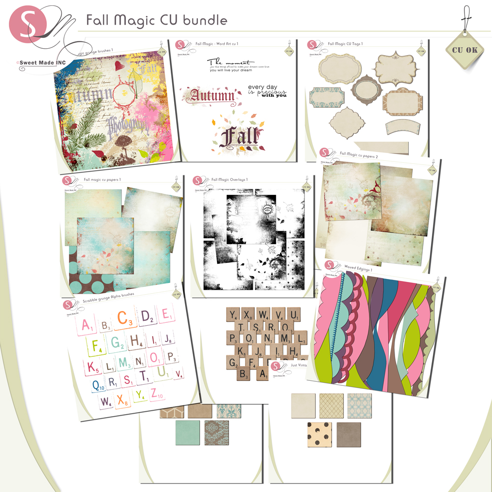 Fall Magic ( cu) bundle 1