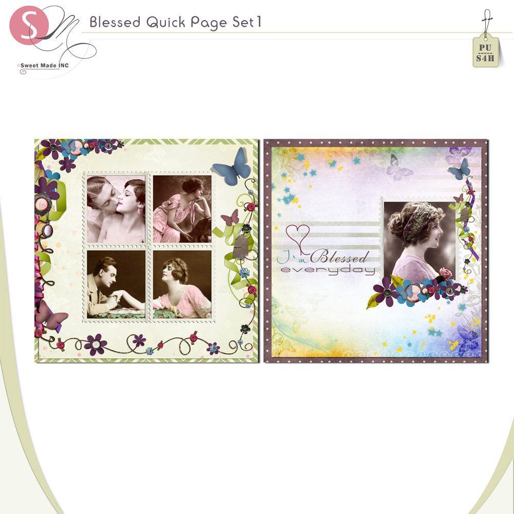 Blessed - Quickpage set 1