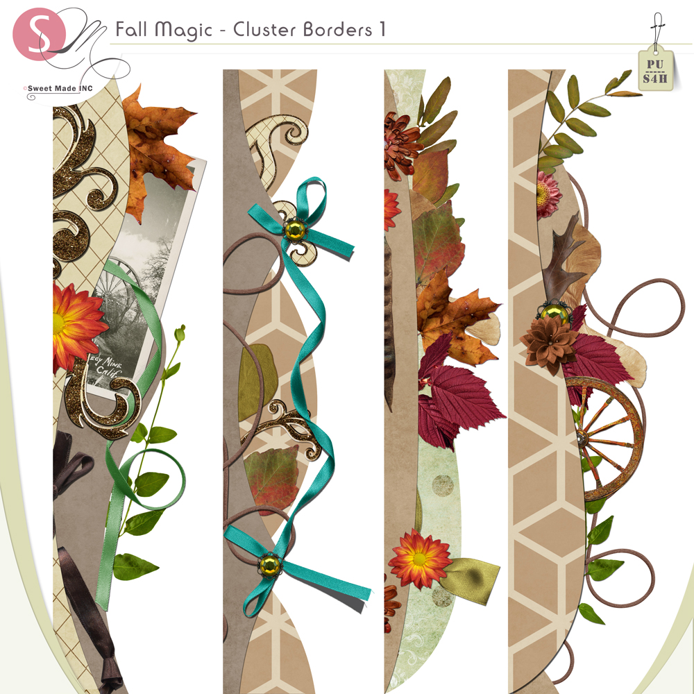Fall Magic - Border clusters