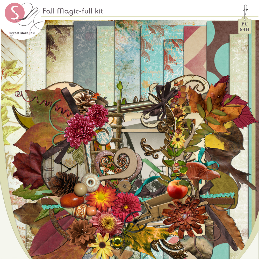Fall Magic - Full Scrap Kit