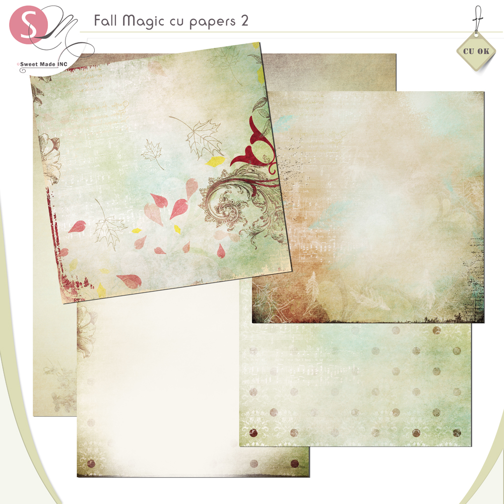 Fall Magic (cu) papers 2
