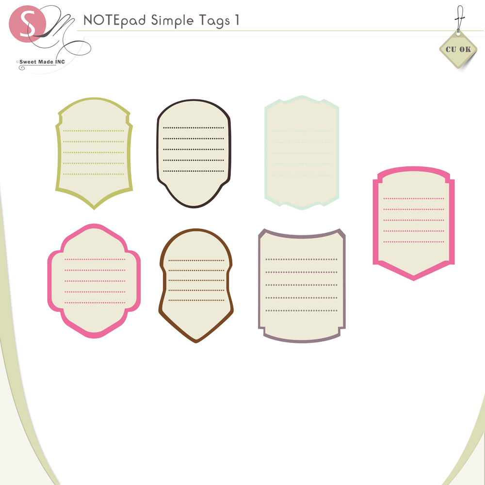 NOTEpad Simple Tags 1